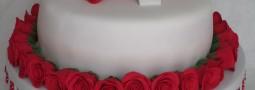 Valentine's Birthday cake