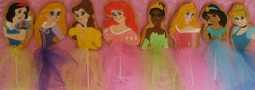 Princesses Cookie pops