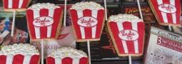 Popcorn Bag cookie pops