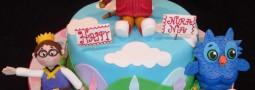 Daniel Tiger's neighborhood cake
