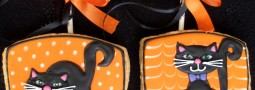Halloween Party cookie favors