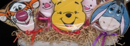 Winnie the pooh and friends cookie pops