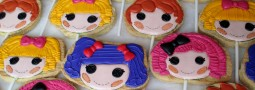 Lalaloopsy cookie pops
