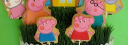 Peppa Pig & Friends cookie pops basket