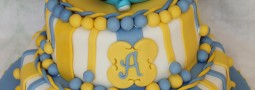 Mickey Mouse Christening cake