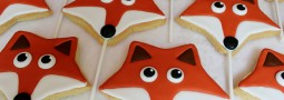 Fox cookie pops