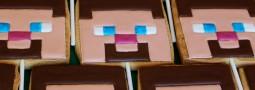 Minecraft cookie pops