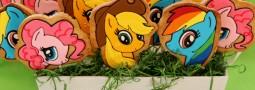 My little Pony cookie pops