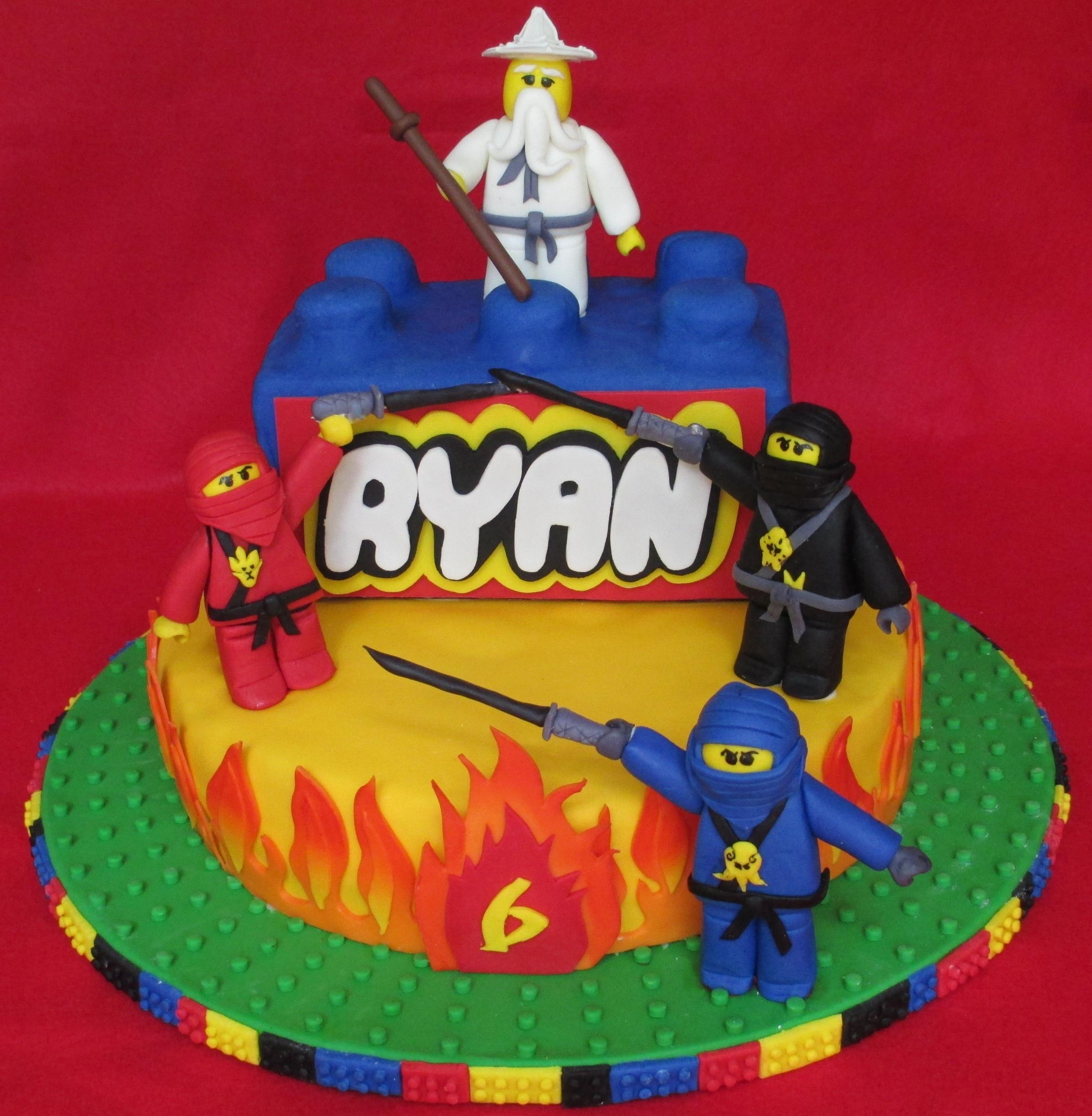 Lego Ninjago Cake Dolce Ladybug