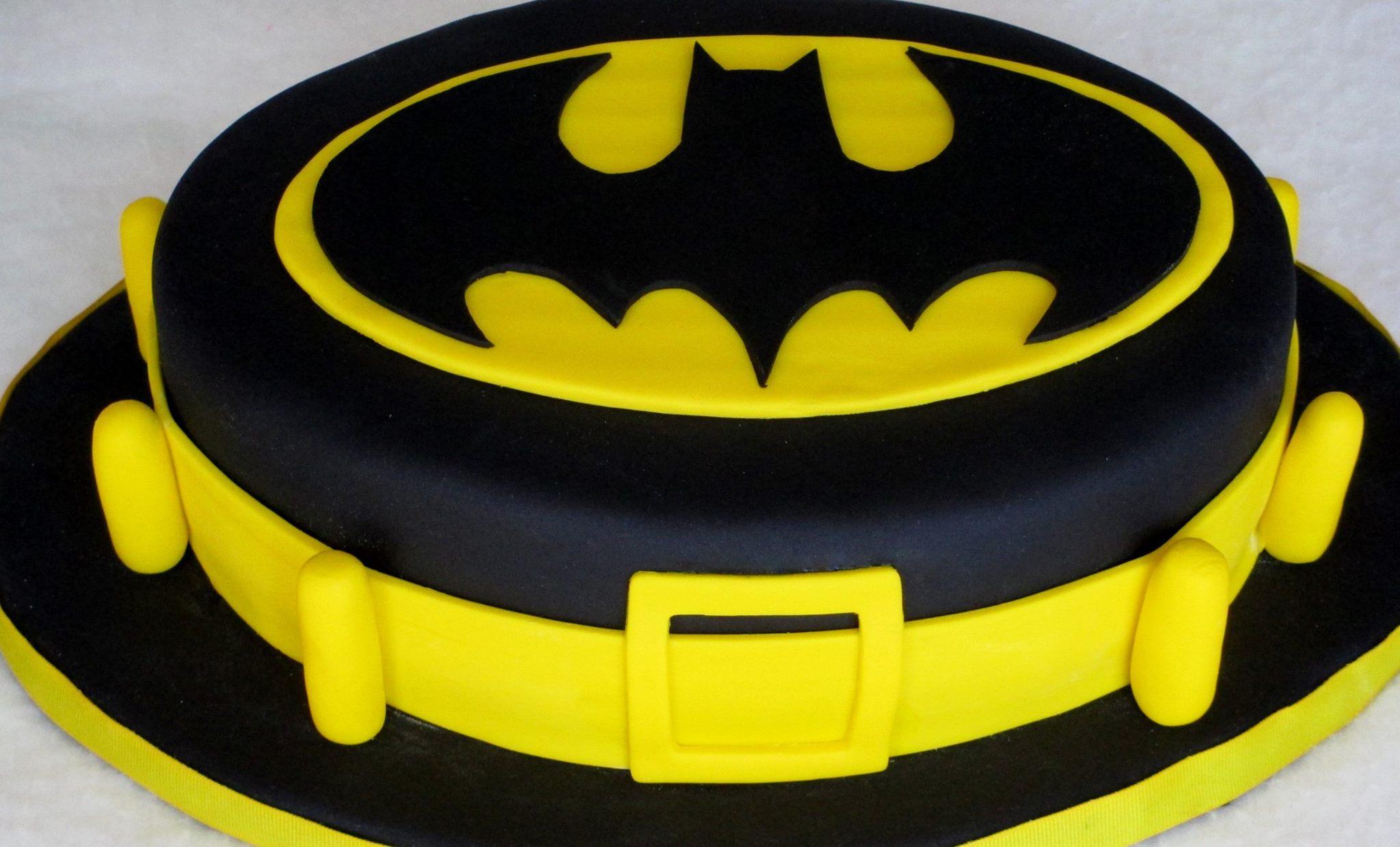 Batman Cake Dolce Ladybug